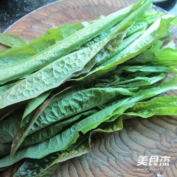 花生粉拌莴笋叶的做法大全