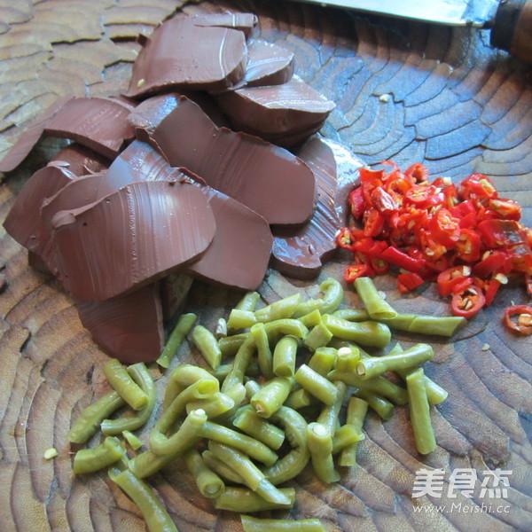 酸豆角猪血汤的做法大全