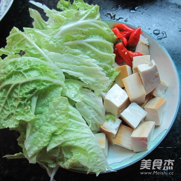 白菜煮豆腐的做法大全