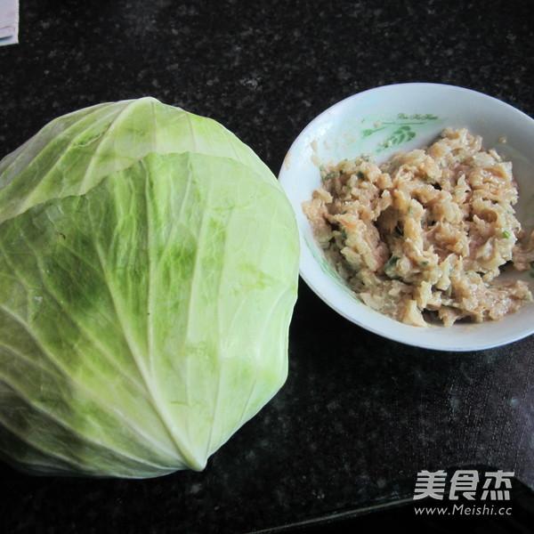 香煎翠绿包菜卷的做法大全