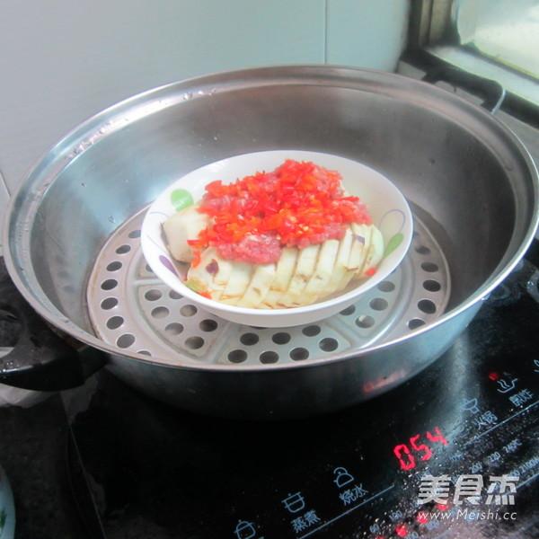 肉末蒸茄子怎么做