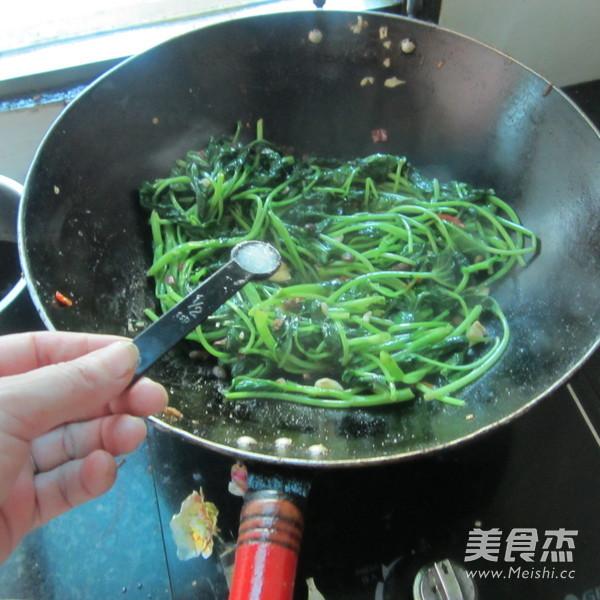 咸炒空心菜怎么煮
