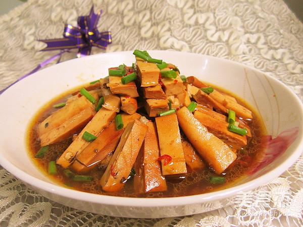 卤豆腐干怎么做