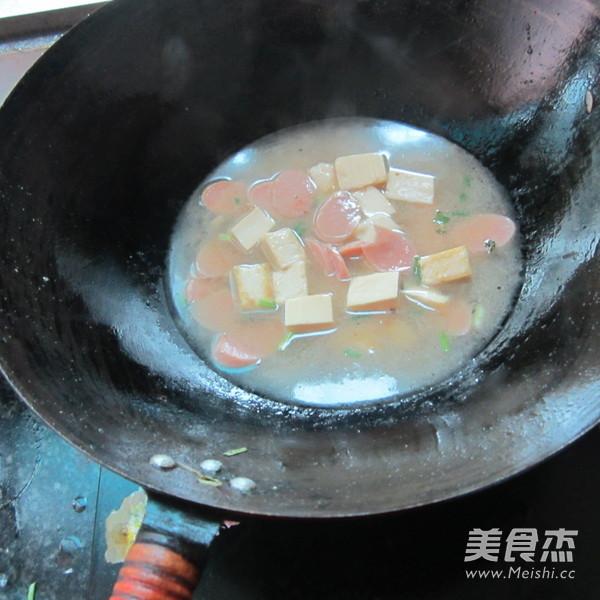 火腿豆腐汤怎么炒