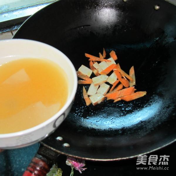 豆腐胡萝卜煮粉怎么做