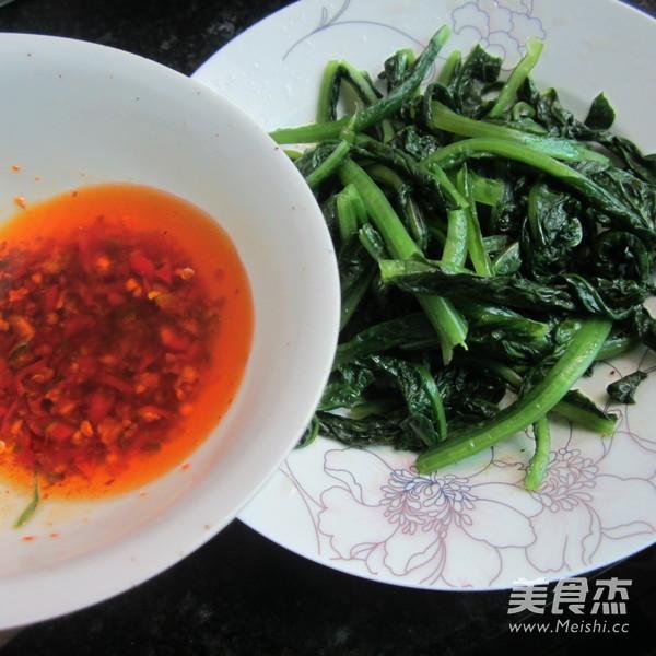 花生粉拌莴笋叶怎么炒