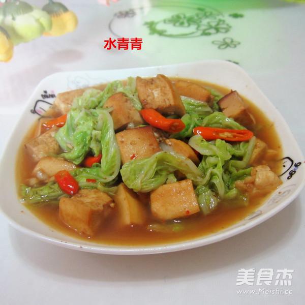 白菜煮豆腐怎么做