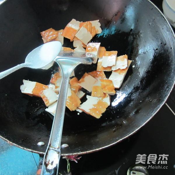 鱼香香干片的家常做法