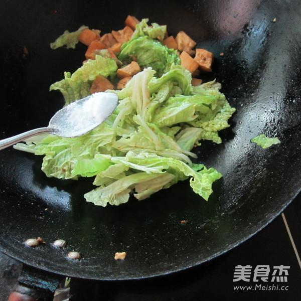 白菜煮豆腐的家常做法