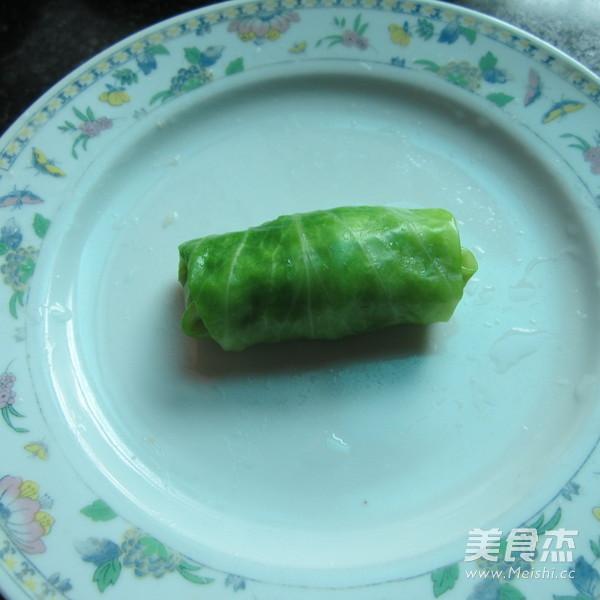 香煎翠绿包菜卷怎么炒