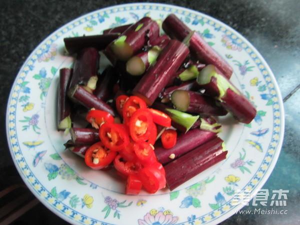清炒红菜苔的做法图解