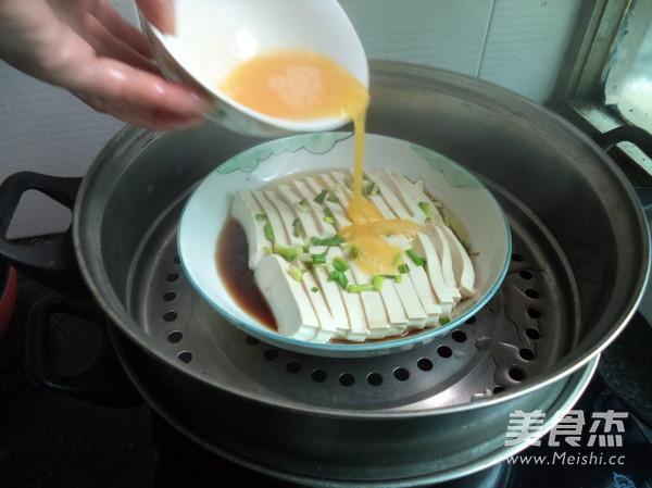 豆腐蒸蛋怎么煸