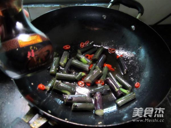 清炒红菜苔怎么做