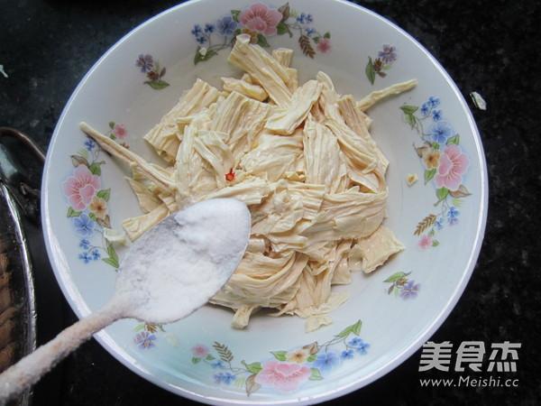 凉拌腐竹怎么吃