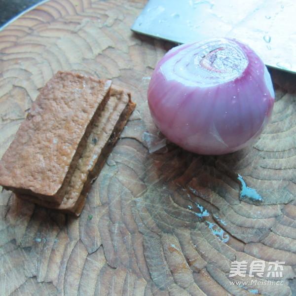 洋葱炒卤豆腐干的做法大全