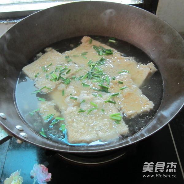 韭菜豆腐渣怎么炖