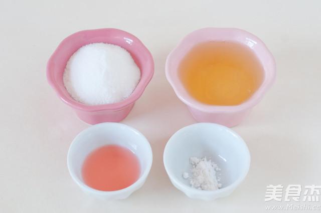 粉嫩蛋白糖的做法大全