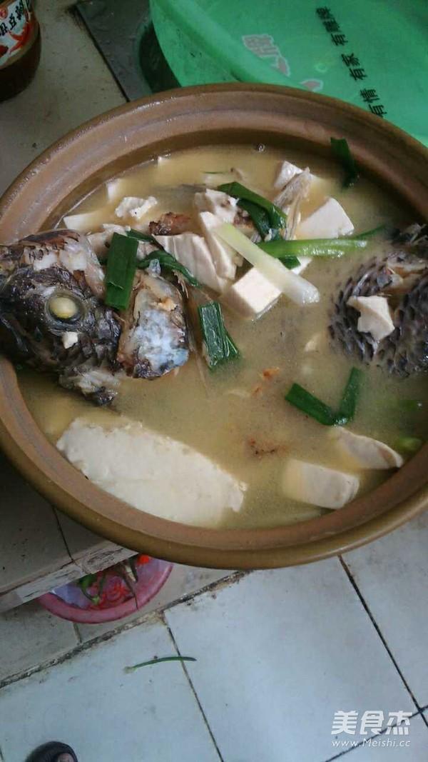福寿鱼炖豆腐怎么炒