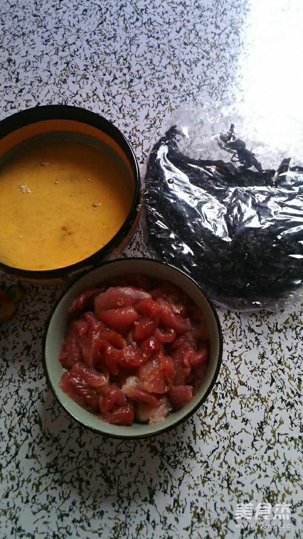紫菜鸡蛋肉汤的做法大全