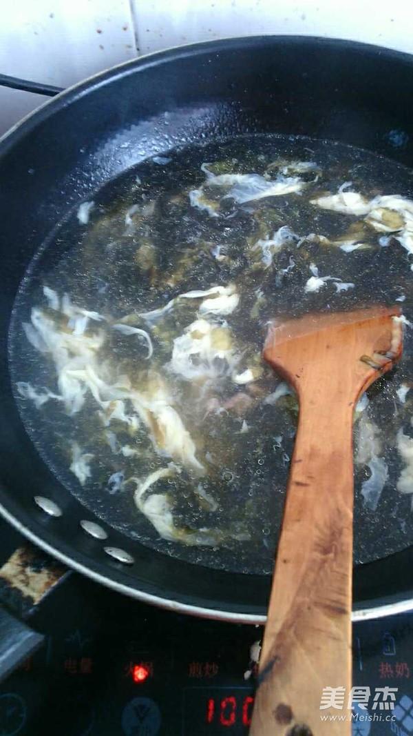 紫菜鸡蛋肉汤的家常做法