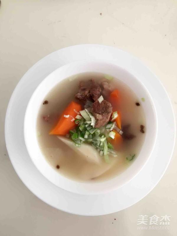 砂锅羊肉炖山药胡萝卜怎么煮