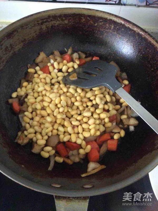 猪皮炒黄豆芽怎么吃