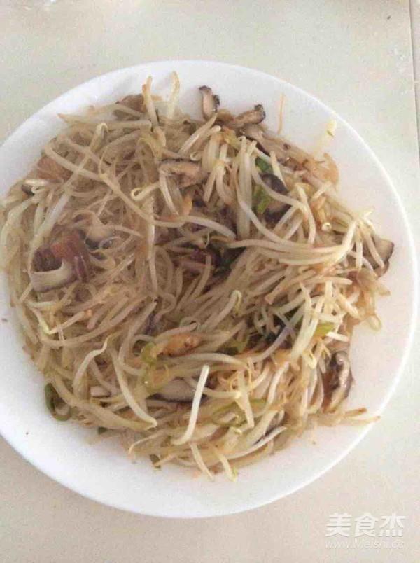 绿豆芽炒粉丝怎么吃