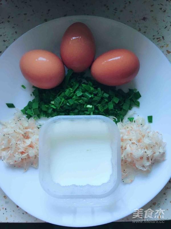 奶香韭菜虾皮鸡蛋饼的做法大全