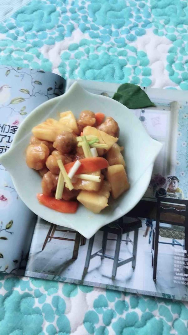菠萝古老肉怎样做