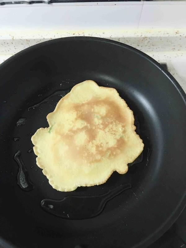 韭黄鸡蛋饼怎么煮