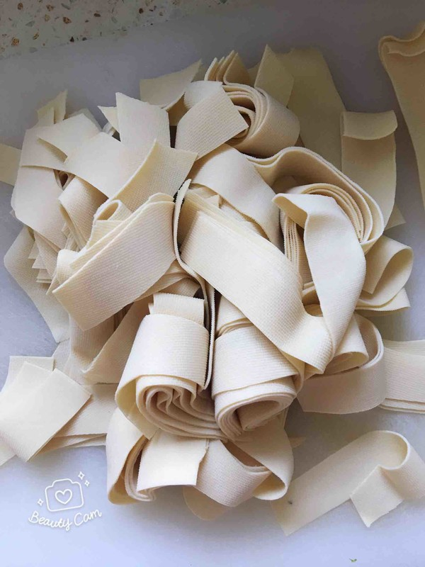 五花肉白菜炖干豆腐的做法图解