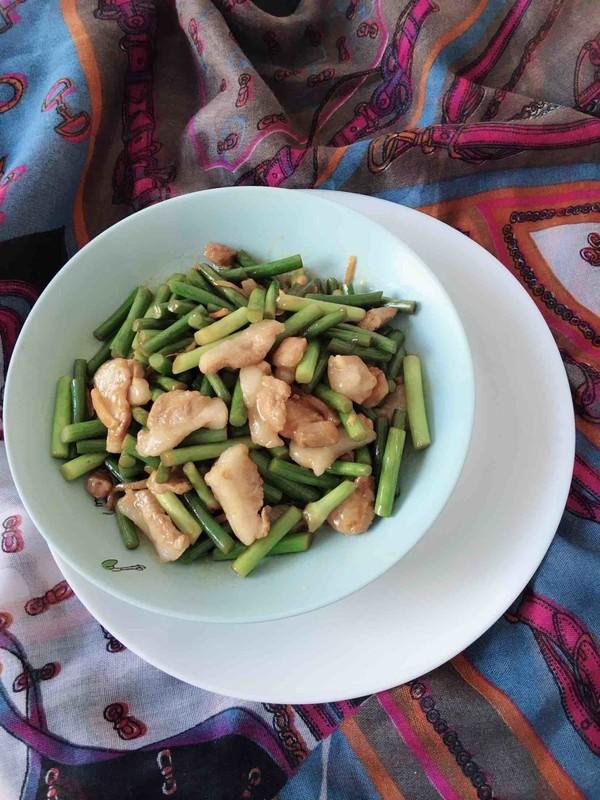 肉炒蒜苔怎么做