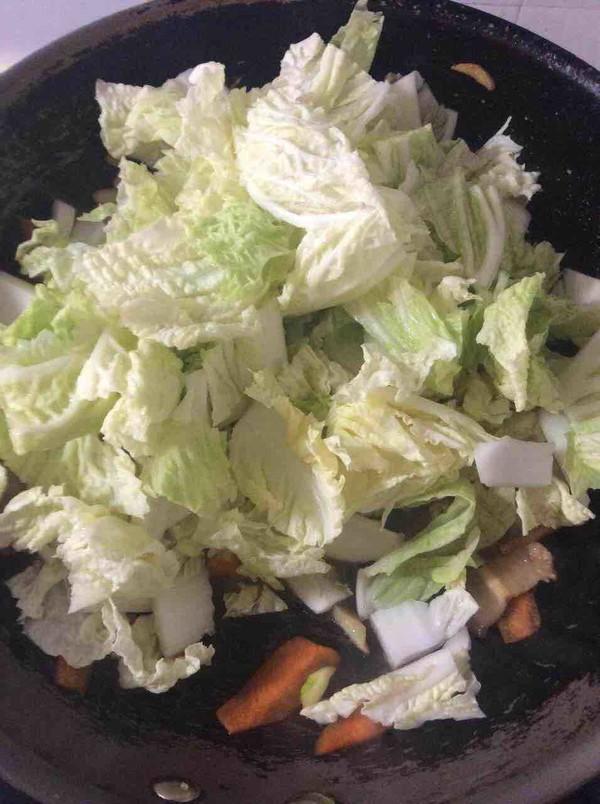 大白菜炖冻豆腐怎么炒