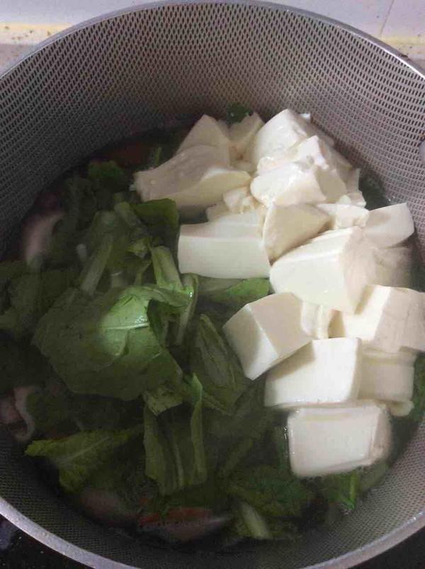 小白菜豆腐汤怎么做