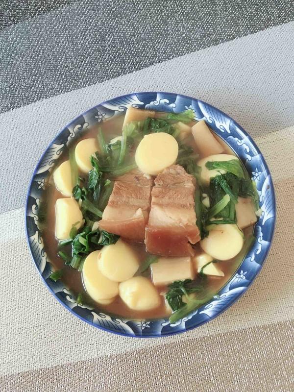 红烧肉烩日本豆腐怎么炒