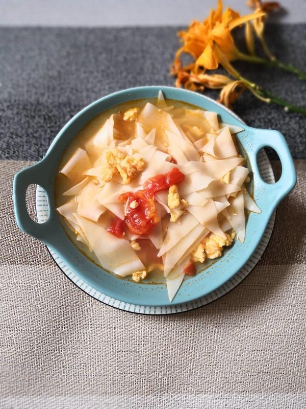 西红柿面片汤怎么做