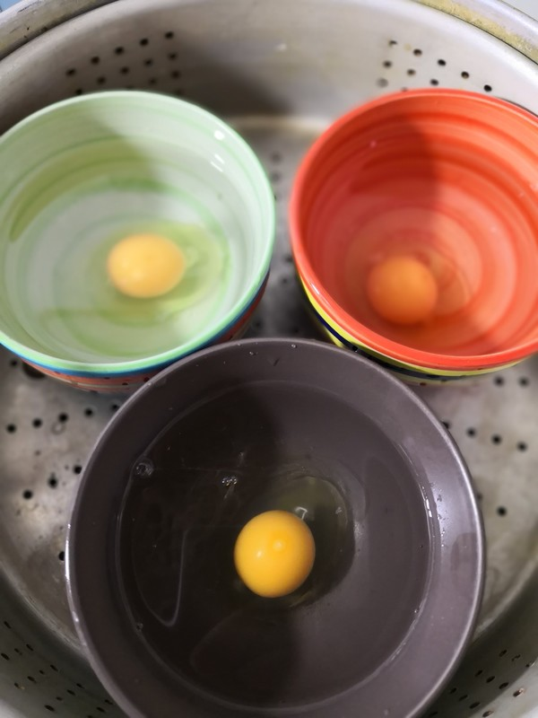 水蒸荷包蛋的家常做法