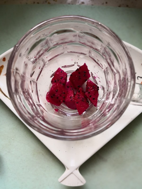 火龙果酸奶杯的家常做法