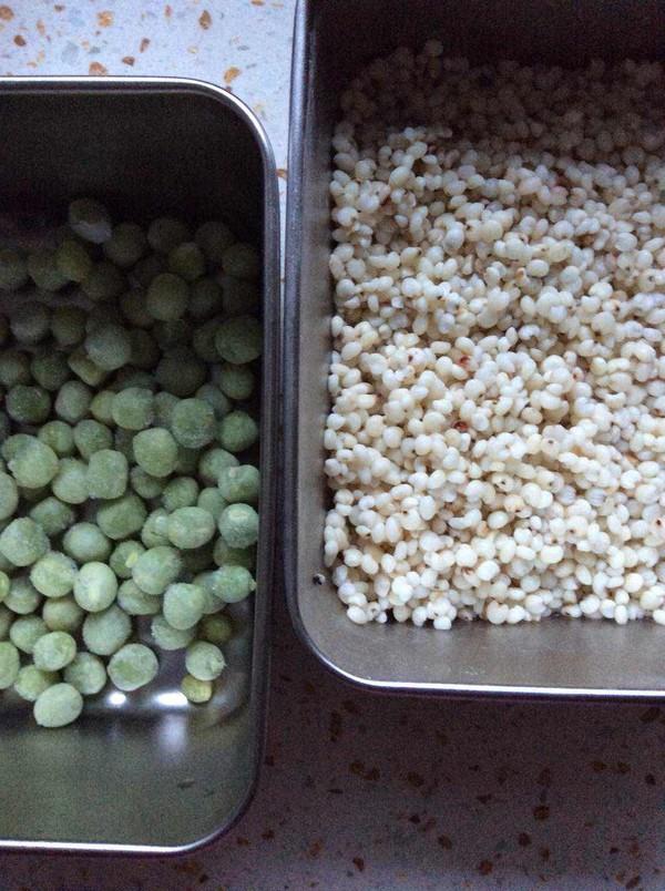 高粱米豌豆粥的做法大全