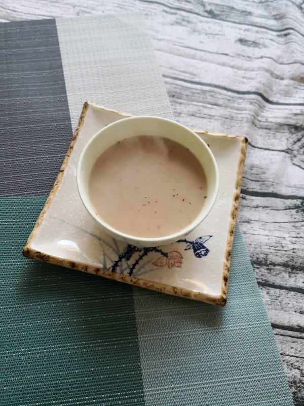 大黄米红枣糊成品图