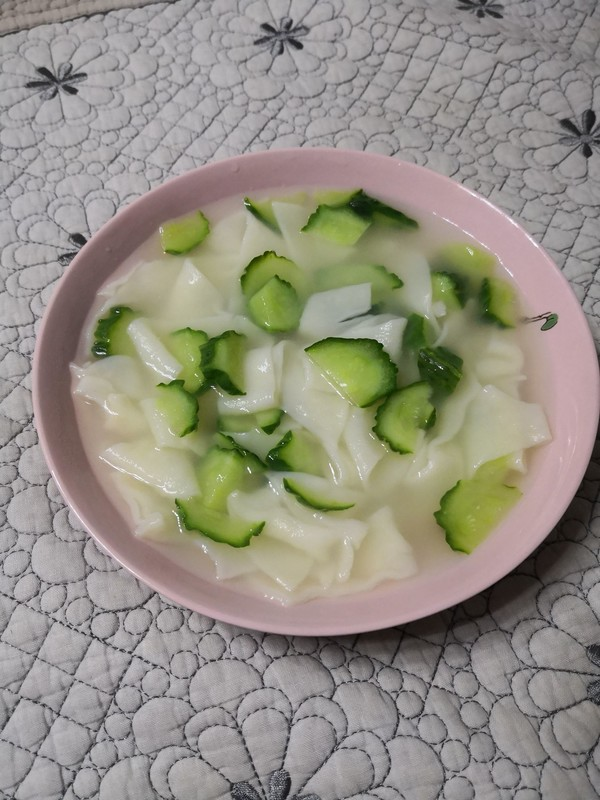 黄瓜面片汤怎么炒