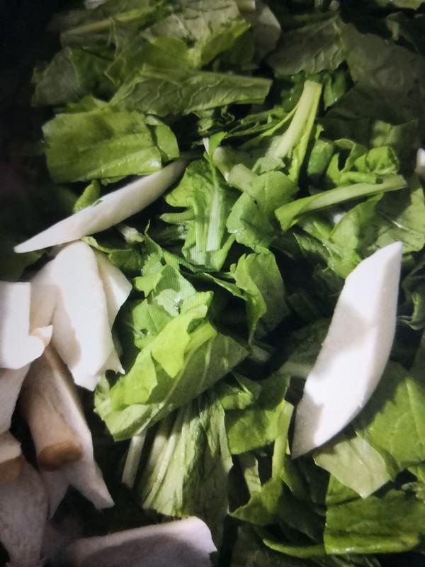 小白菜冻豆腐怎么炒
