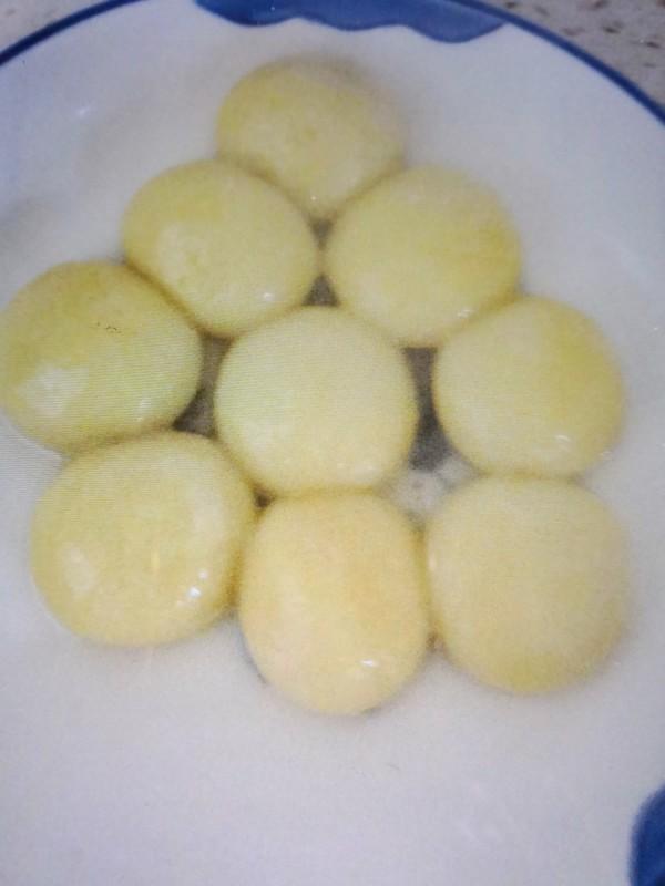 大黄米榴莲味汤圆怎么吃