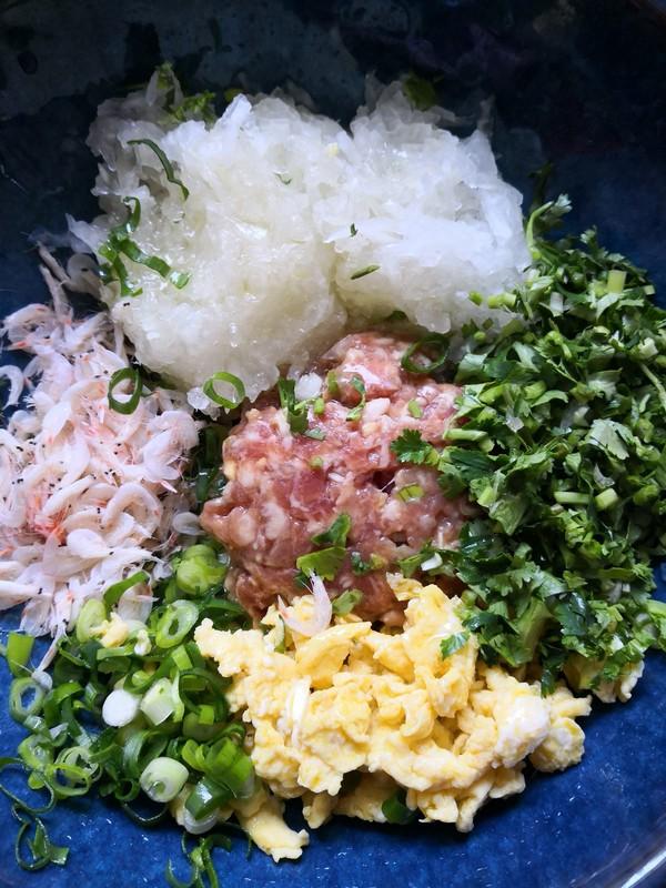 速冻冬瓜虾皮饺子的家常做法