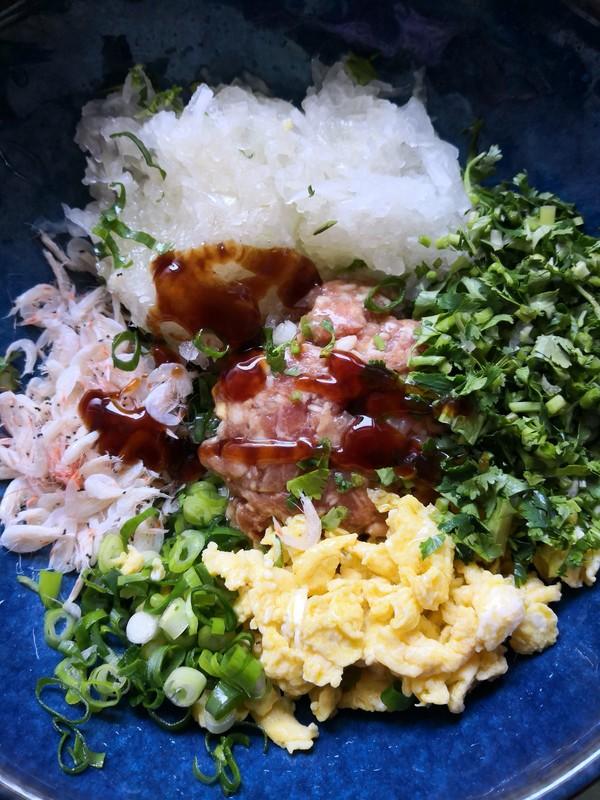 速冻冬瓜虾皮饺子的简单做法
