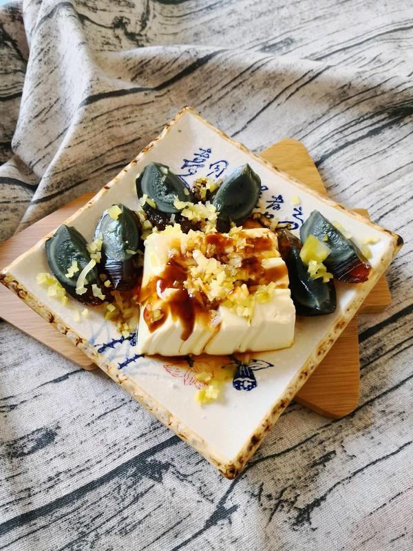 榨菜丝皮蛋豆腐怎么做