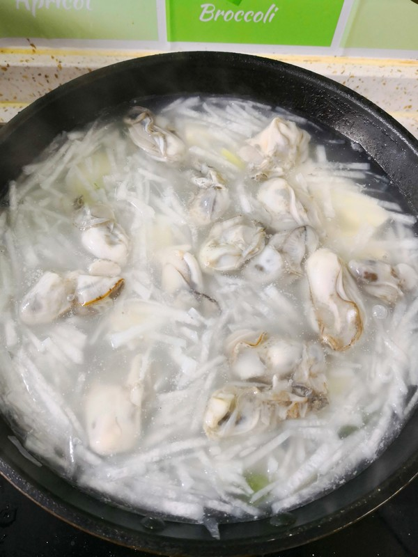 蛎蝗萝卜豆腐汤怎么煮