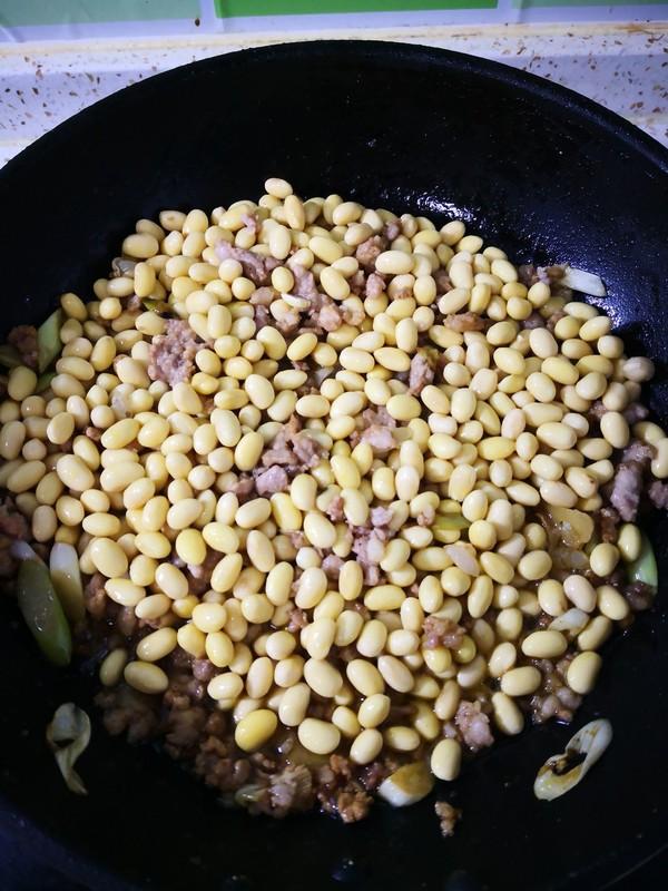 肉馅黄豆芽怎么做