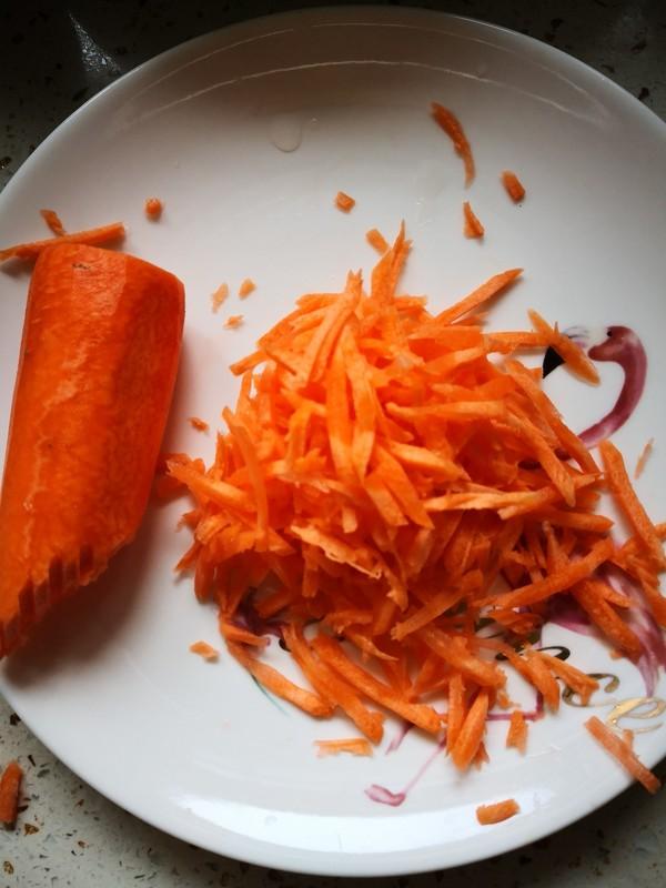 胡萝卜丝馒头的做法大全