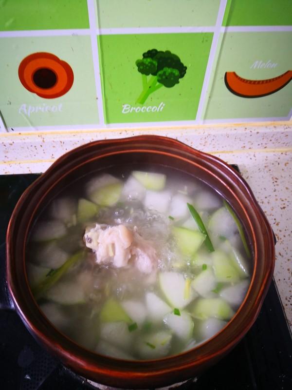 骨棒冬瓜汤怎么吃